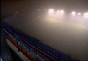 Zmiana planów przez gęstą mgłę