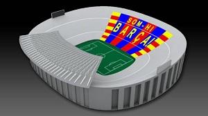 """""""Som-hi Barça"""" – środowa mozaika na Camp Nou"""