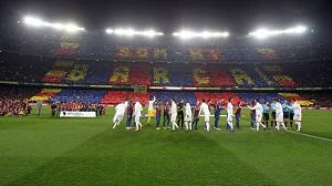 Camp Nou pękało w szwach
