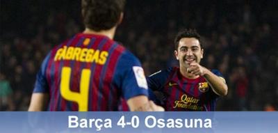 Na dobrej drodze po puchar: FC Barcelona 4 – 0 Osasuna