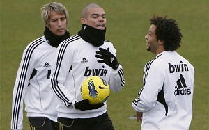 Pepe w kadrze na Barcelonę