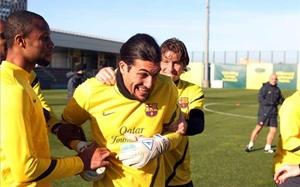 Piłkarze pogratulowali Pinto przedłużenia kontraktu