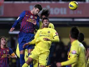 Statystyki z meczu z Villarrealem