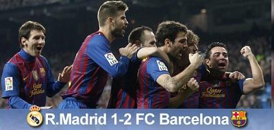 Zwycięskie derby: Real Madryt 1 – 2 FC Barcelona