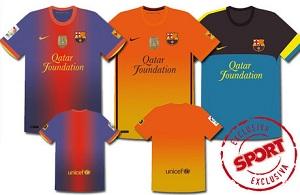 Tak będą wyglądały nowe stroje Barcelony?!