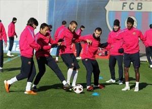 Pierwszy trening w 2012 roku