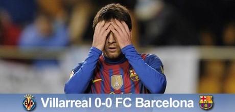 Liga coraz trudniejsza: Villarreal CF – FC Barcelona 0:0