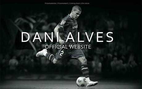 Oficjalna strona Daniego Alvesa