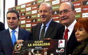 Del Bosque chce finału na pięknym stadionie