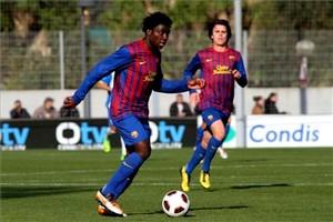 Hat-trick Dongou przeciwko Saragossie