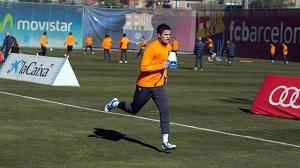 Afellay zaczyna indywidualne treningi na boisku