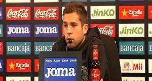 Jordi Alba mówi o swoich marzeniach gry w Barcelonie