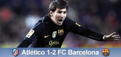 Ważne trzy punkty zdobyte: Atlético Madryt 1-2 FC Barcelona