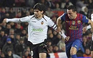 Valencia bez Banegi z Barceloną