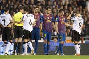 Oceny za mecz z Valencią