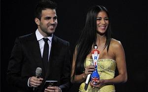 Cesc Fàbregas na Brit Awards