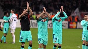 Tylko Barça  wygrała w Lidze Mistrzów na wyjeździe