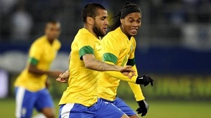 Dani Alves kluczową postacią w zwycięstwie Brazylii