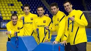 Mistrzowie Europy w Palau Blaugrana