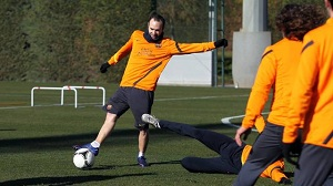 Pedro i Iniesta ponownie z grupą