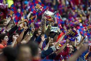 """""""Futbol Club Barcelona!"""", czyli przyśpiewki culés"""