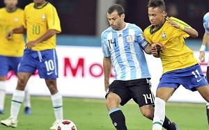 "Mascherano i ""Brazylia vs. Brazylia"""