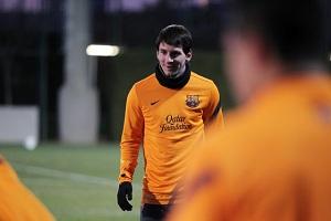 Messi – szczęśliwy i bez brody