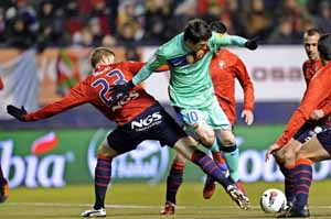 Osasuna-Barça: Kluczowe momenty