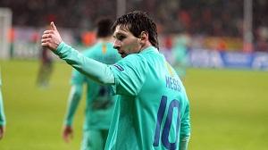 7 goli Messiego w Lidze Mistrzów