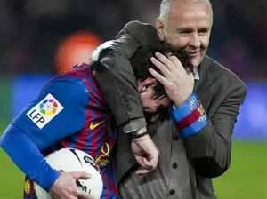 """Messi świętuje 200 meczów drugim """"czteropakiem"""""""