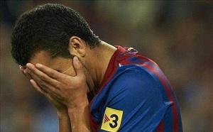 Smutny Pedro po porażce z Osasuną