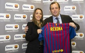 Rexona i FC Barcelona partnerami