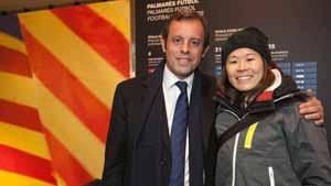 Najlepsza piłkarka świata na Camp Nou