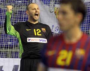 Barça Intersport liderem w grupie Ligi Mistrzów