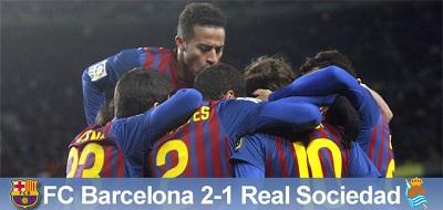 Zwycięstwo okupione kontuzją: FC Barcelona 2 – 1 Real Sociedad
