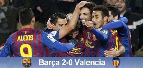Finał jest nasz: FC Barcelona 2-0 Valencia