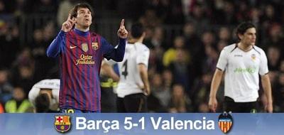 Guardiola ma powód, aby zostać: FC Barcelona – Valencia 5:1