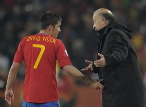 Del Bosque: David największą bronią w ataku