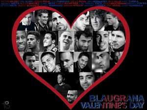 Walentynkowo: Zawodnicy Barçy i ich partnerki