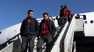 Piłkarze już w Barcelonie