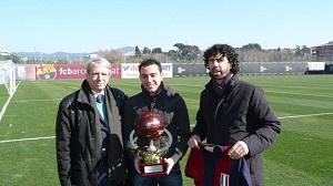 Xavi doceniony we Włoszech