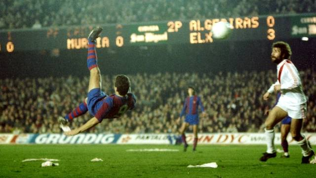 Krankl – ostatni piłkarz Barçy, który strzelił pięć goli