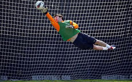 Messi jako… bramkarz