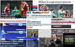 Włoska prasa: Milan trafił na najgorszego rywala