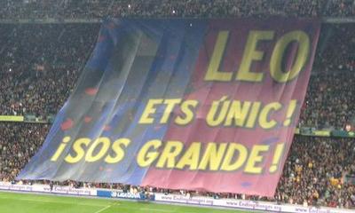 Messi uhonorowany