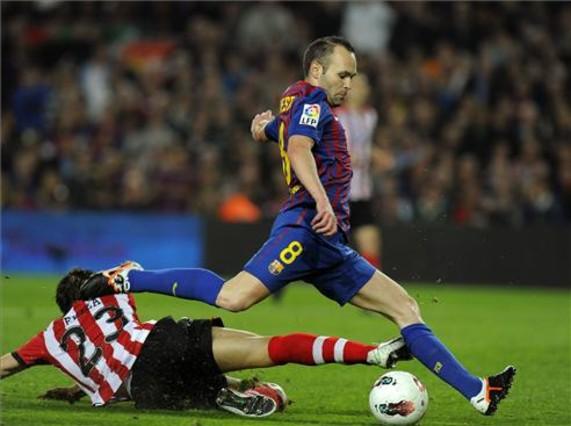 Valdés i Iniesta piszą historię