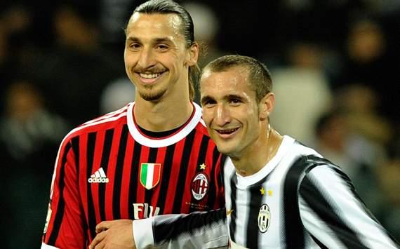 Chiellini liczy na zwycięstwo Milanu