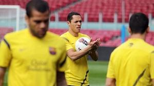 Przedostatni trening przed Athletic Bilbao