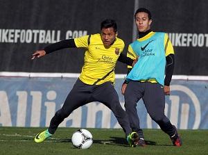 Alexis i Thiago gotowi na Sevillę