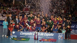 Zdobywcy Pucharu Hiszpanii – FCB Alusport